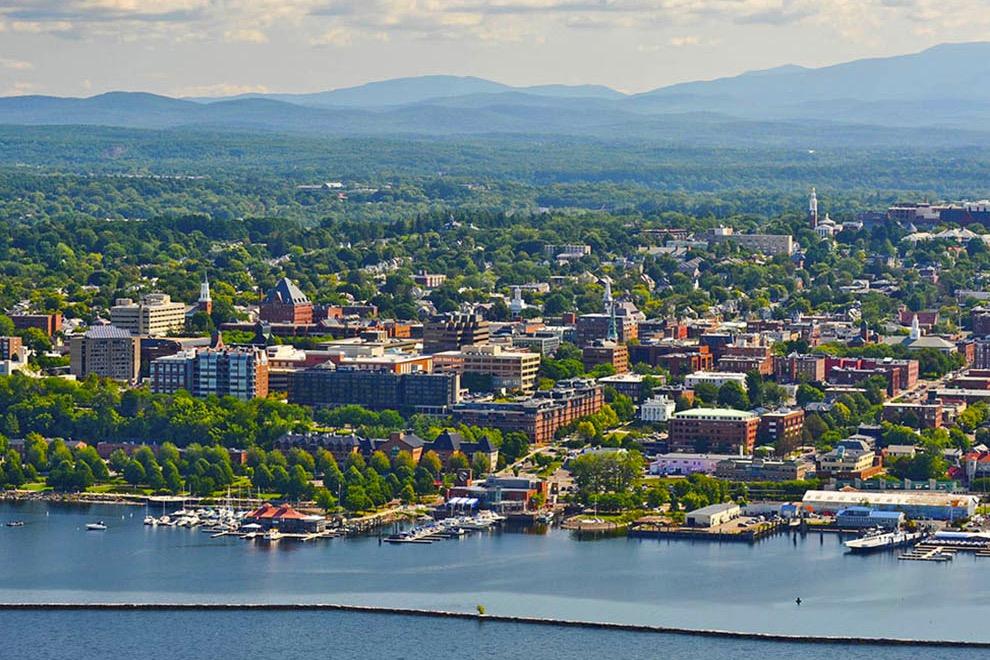 Waterfront Burlginton Vermont