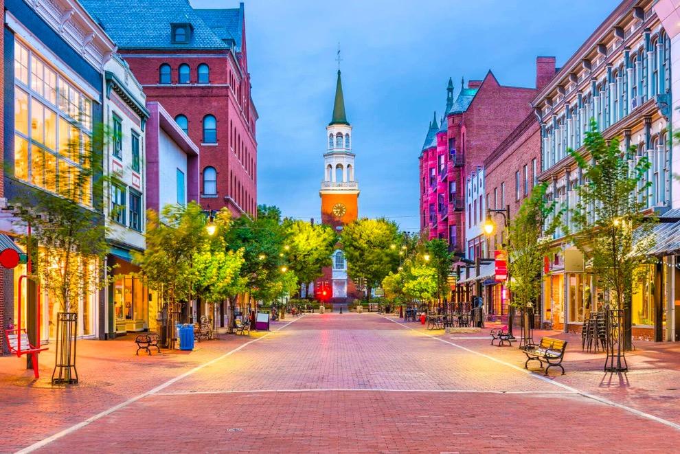Church Street Burlginton Vermont